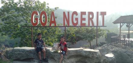 Obyek Destinasi Wana Wisata Goa Ngerit