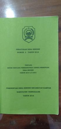 Dokumen RPJM Desa Senden