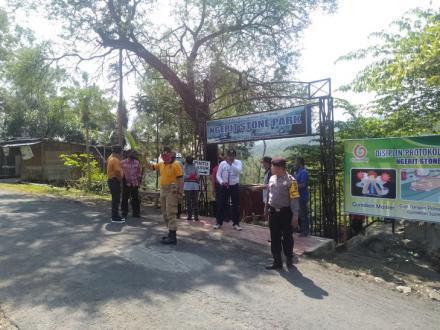 Monitoring Wisata Ngerit Stone Park (NSP) Desa Senden